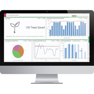 EcoStruxure™ Power Monitoring Expert Healthcare Edition