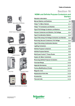 Digest 178 Catalog 16: NEMA and Definite Purpose Contactors and Starters