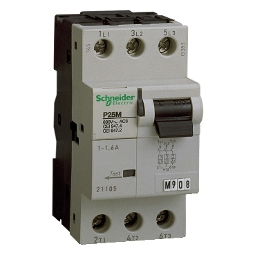 Motor protection circuit breaker up to 25 A