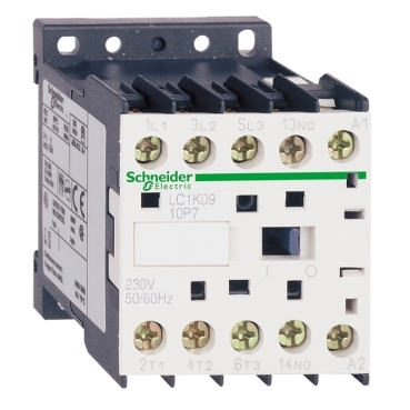 Contactors and reversing contactors up to 7.5kW 400/415V