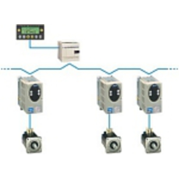 Connected via CANopen, Lexium 05 provides the ideal solution for pick and place applications