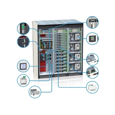 Example of a customised iPMCC solution integrating some of the best products and systems from Schneider Electric
