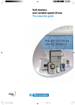 Soft starters and variable speed drives - The essential guide