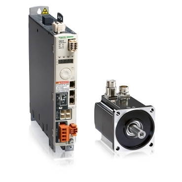 Servo drives and servo motors from 0.15 to 7 kW