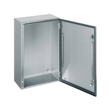 Stainless-steel wall-mounting enclosures