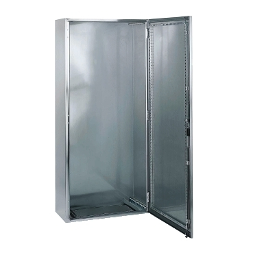 Stainless-steel floor-standing monobloc enclosures