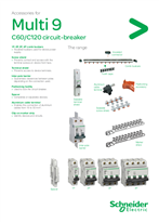 Multi 9 C60,120 circuit breakers