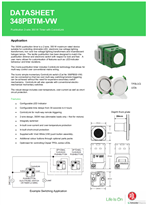 Technical Datasheet for PDL348PBTM ICONICN Pushbutton 350W 2 wire timer with ControlLink