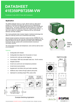 Technical Data Sheet for 41E350PBT2SM-VW ICONIC Push Button Timer