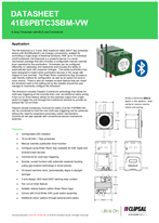 Technical Data Sheet for ICONIC 41E6PBTC3SBM Time Clock with BLE