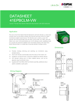 Technical Data Sheet for ICONIC 41EPBCLM Secondary Control Link Switch