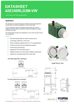 Technical Data Sheet for 42E350RLD2M-VW ICONIC Rotary Dimmer