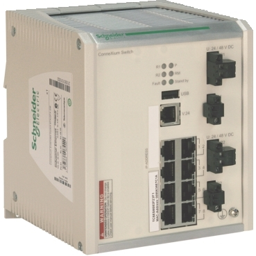 ConneXium schneider.label Connecting Ethernet devices