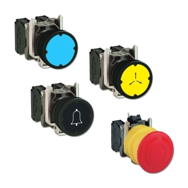 Harmony 22 mm Metal XB4/ZB4 and Plastic XB5/ZB5 Push Buttons for Harsh Environments