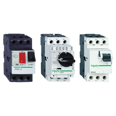 Magnetic and thermal magnetic motor circuit breakers up to 15 kW