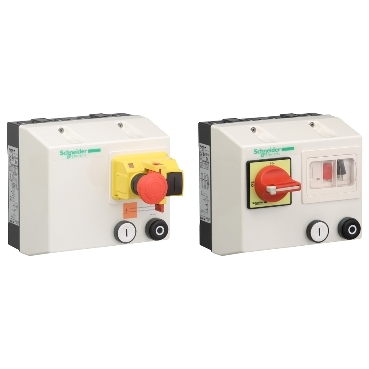 Enclosed direct-on-line starters for safety applications up to 9 kW