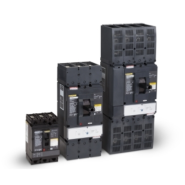 PowerPact 500VDC Thermal-Magnetic Circuit Breakers