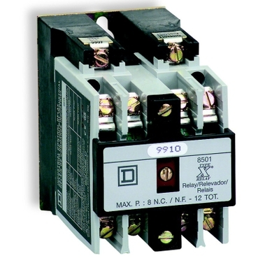Square D® 8501 Type X relays