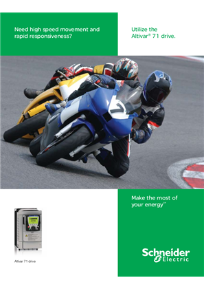 Altivar 71 Variable Speed AC Drives Brochure