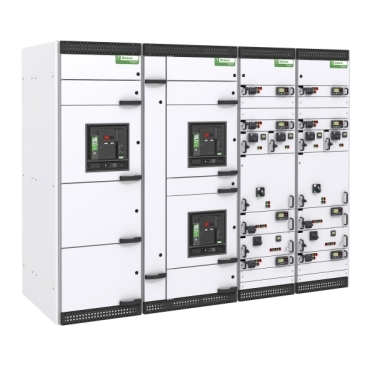 Distribution and motor control switchboard up to 6300A