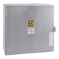 8903L electrically held lighting contactor, 6 P, 6 NO, 30 A, 600 V, 110/120 V 50/60 Hz coil, NEMA 1