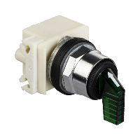 selector switch Ø 30 - 3 positions - spring return - incandescent