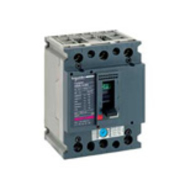 Molded case circuit breakers for motor protection up to 37 kW
