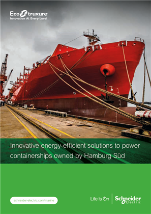 Innovative energy-efficient solutions to power containerships owned by Hamburg Sud