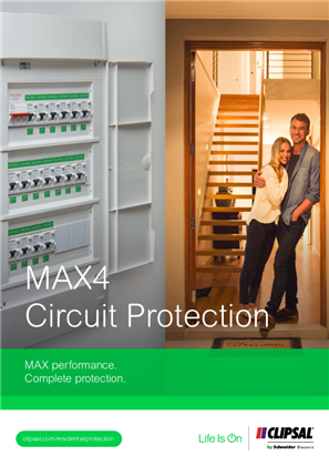 MAX4 Circuit Protection. MAX performance. Complete protection.