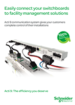 Easily connect your switchboards to facility management solutions