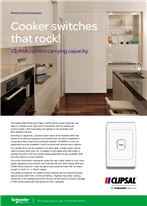 Cooker switches that rock! 32/45A current carrying capacity, 116469