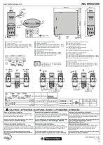 ABL8RED24400 Instruction Sheet