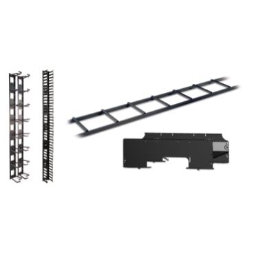 Cable Management schneider.label Comprehensive selection of accessories designed to organize power or data cables within a rack or enclosure.
