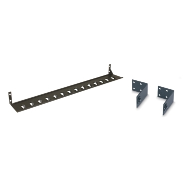 Cord retention brackets and vertical-mount bracket kits to complete rack power distribution solutions