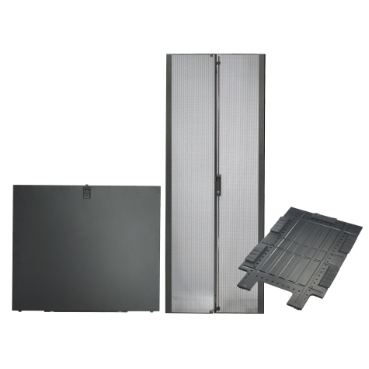 Rack system components that can be added to existing racks if requirements change.