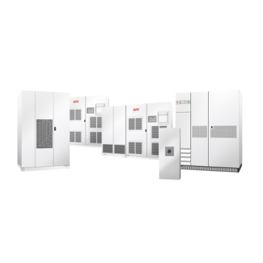 EPS 7000 schneider.label 300 - 500kVA performance 3 phase UPS power protection and high adaptability makes the MGE EPS 7000 a facility managers top choice UPS