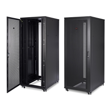 NetShelter SV schneider.label Universal IT enclosures with essential features and functionality to meet the fundamental requirements and applications of rack-mount IT equipment in variety of IT environments.