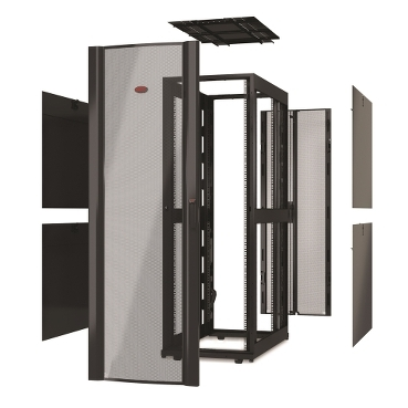 Custom Racks schneider.label Feature-rich custom-configured or pre-integrated cabinets tailored to your specific needs.