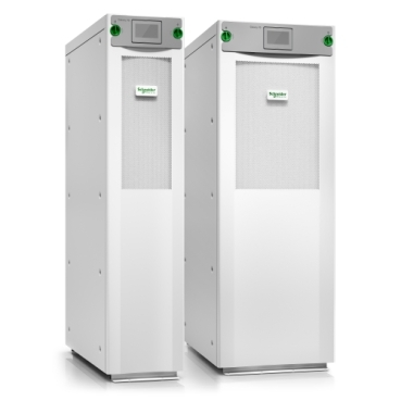 Galaxy VS schneider.label Highly efficient 20 to 100 kW (480 V), 10 to 150 kW (400 V), and 10 to 50 kW (208 V) 3-phase UPS for edge, small, and medium data centers and other business-critical applications.
