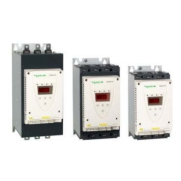Soft starters for pumps and fans from 4 kW to 400 kW