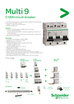 Multi 9 C120H circuit breaker