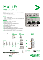 Multi 9 C120N circuit breaker