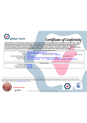 Certificate of Approval (Conformity)