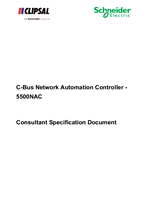 CB-OTH-03-1.0 - Consultant Specification Document