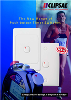 The new range of push-button timer switches