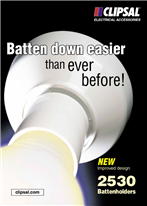 2530 Battenholders - NEW Improved design. Batten down easier than ever before!