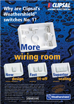 Why are Clipsal's Weathershield® switches No. 1?, 14432