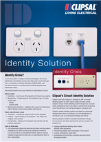 Clipsal�s Circuit Identity Solution - window ID labelling system - 14894