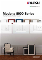 Modena 8000 Series, Your Sophisticated Modular Solution, 25326