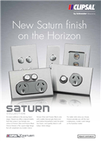 Saturn Collection - new Saturn finish on the Horizon, 22489